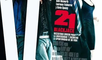 Poster for the movie «21 Black Jack»