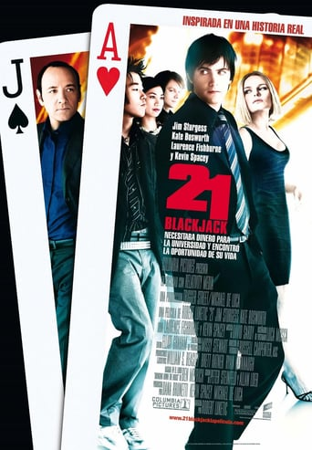 """Poster for the movie """"21 Black Jack"""""""