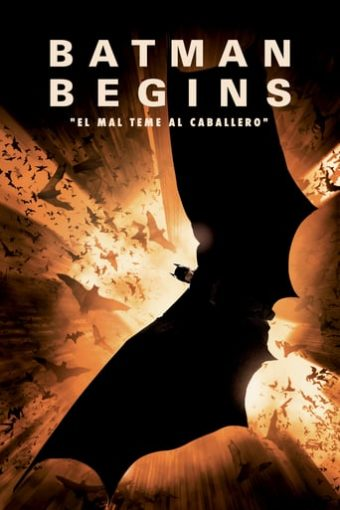 """Poster for the movie """"Batman Begins"""""""