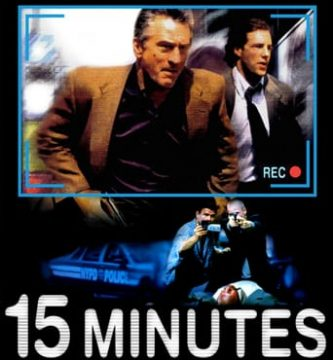 "Poster for the movie ""15 Minutos"""