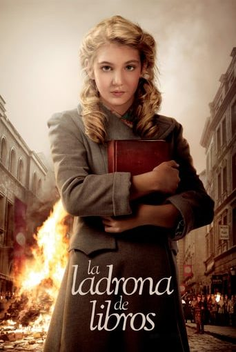 "Poster for the movie ""La ladrona de libros"""
