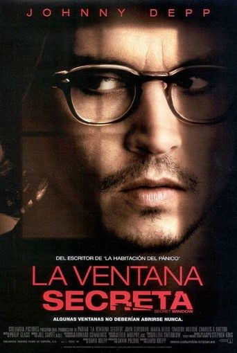 "Poster for the movie ""La ventana secreta"""