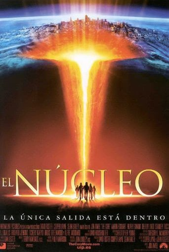 "Poster for the movie ""El núcleo"""