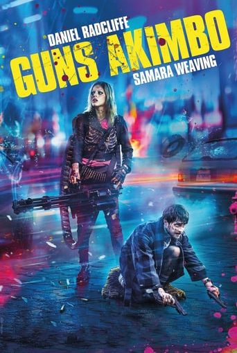 """Poster for the movie """"Guns Akimbo"""""""