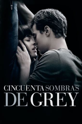 "Poster for the movie ""Cincuenta sombras de Grey"""