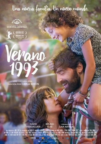 "Poster for the movie ""Verano 1993"""