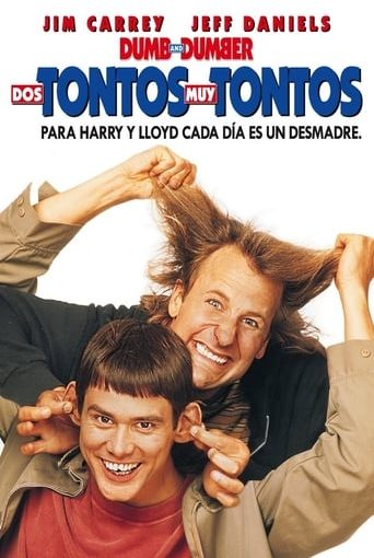 "Poster for the movie ""Dos tontos muy tontos"""