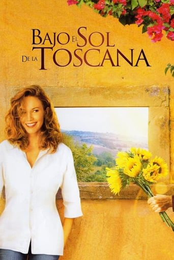 "Poster for the movie ""Bajo el sol de la Toscana"""