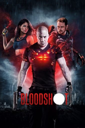 """Poster for the movie """"Bloodshot"""""""