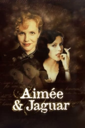 "Poster for the movie ""Aimée y Jaguar"""