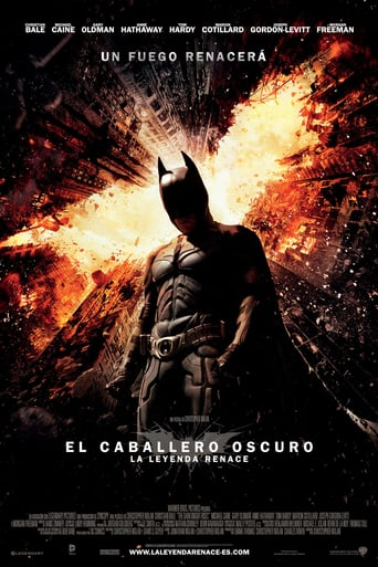 "Poster for the movie ""El caballero oscuro: La leyenda renace"""