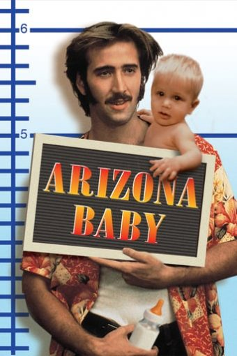 """Poster for the movie """"Arizona Baby"""""""