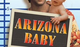 Poster for the movie «Arizona Baby»