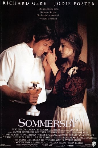 """Poster for the movie """"Sommersby"""""""