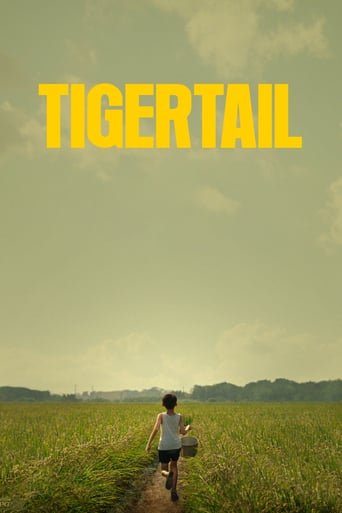 "Poster for the movie ""Tigertail"""