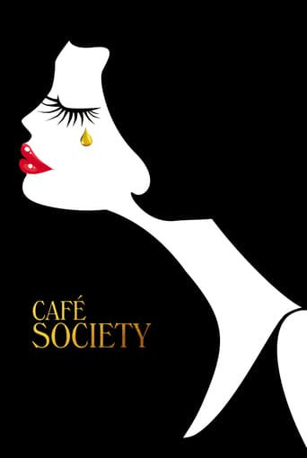 "Poster for the movie ""Café Society"""