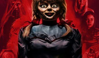 Poster for the movie «Annabelle vuelve a casa»