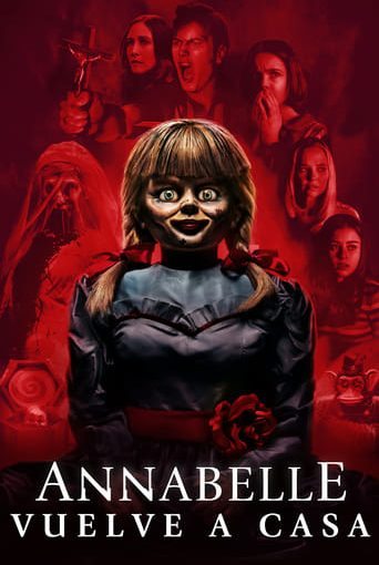 """Poster for the movie """"Annabelle vuelve a casa"""""""