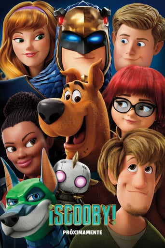 """Poster for the movie """"¡Scooby!"""""""