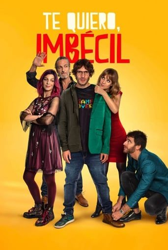 "Poster for the movie ""Te quiero, imbécil"""