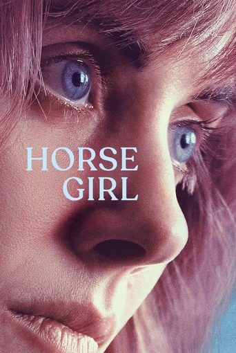 "Poster for the movie ""Horse Girl"""