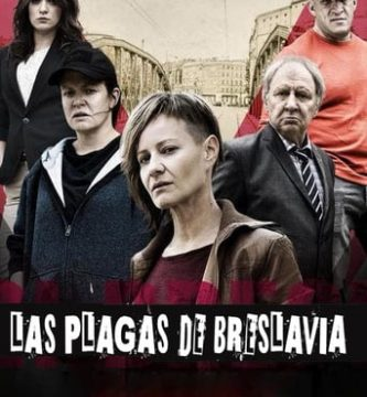 "Poster for the movie ""Las plagas de Breslavia"""