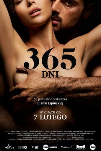"""Poster for the movie """"365 dni"""""""