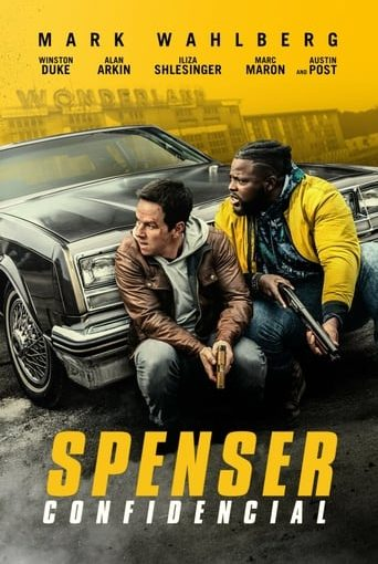 "Poster for the movie ""Spenser: confidencial"""