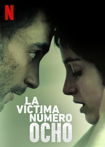 "Poster for the movie ""La víctima número 8"""
