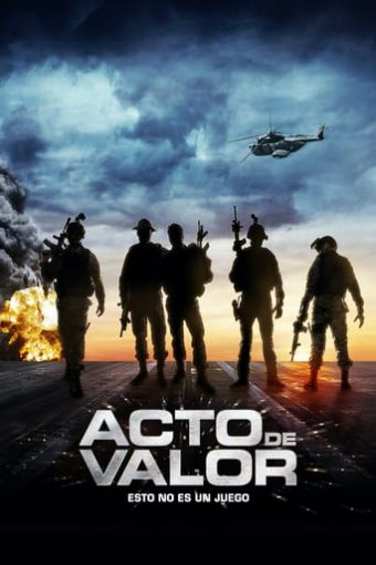 "Poster for the movie ""Acto de valor"""