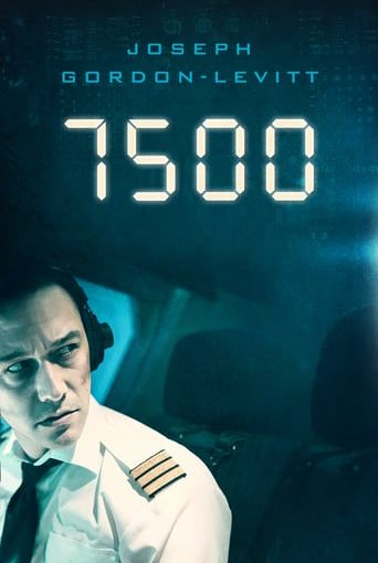 "Poster for the movie ""7500: Avión secuestrado"""
