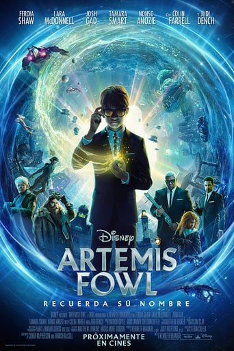 "Poster for the movie ""Artemis Fowl"""