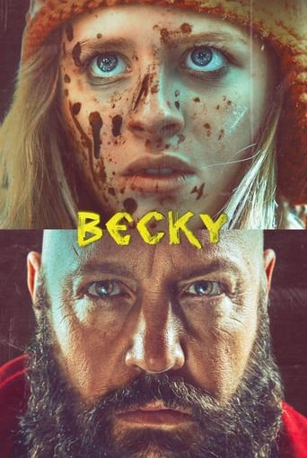 "Poster for the movie ""Becky"""