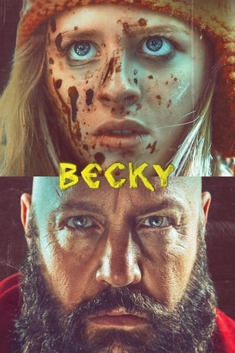 """Poster for the movie """"Becky"""""""