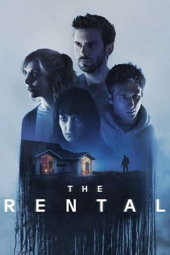 "Poster for the movie ""The Rental"""