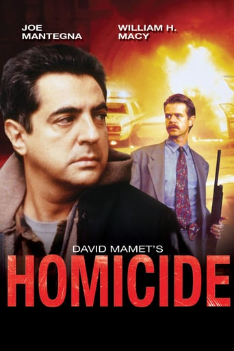 """Poster for the movie """"Homicidio"""""""