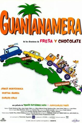 """Poster for the movie """"Guantanamera"""""""
