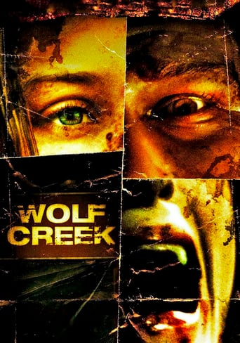 "Poster for the movie ""Wolf Creek"""