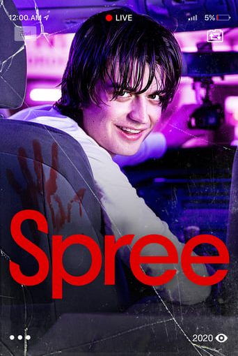 """Poster for the movie """"Spree"""""""