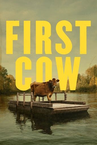 "Poster for the movie ""First Cow"""