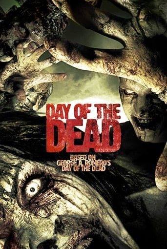 """Poster for the movie """"Day of the Dead"""""""