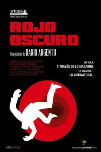 """Poster for the movie """"Rojo oscuro"""""""
