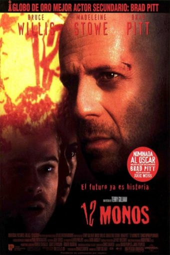 """Poster for the movie """"12 monos"""""""