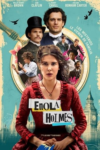 "Poster for the movie ""Enola Holmes"""