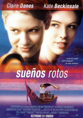 "Poster for the movie ""Sueños rotos"""