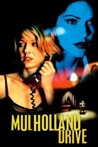 "Poster for the movie ""Mulholland Drive"""