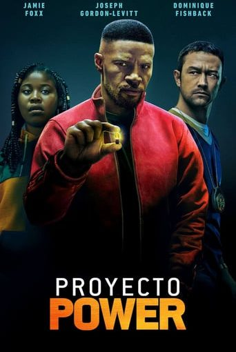 """Poster for the movie """"Proyecto Power"""""""