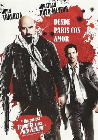 "Poster for the movie ""Desde París con amor"""