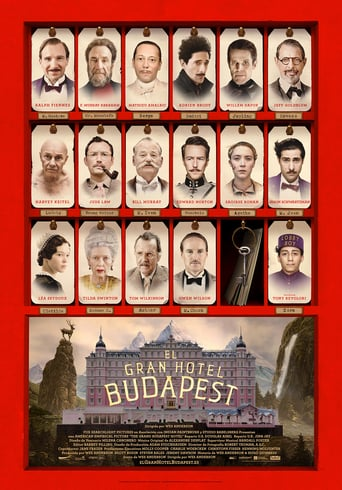 "Poster for the movie ""El gran hotel Budapest"""
