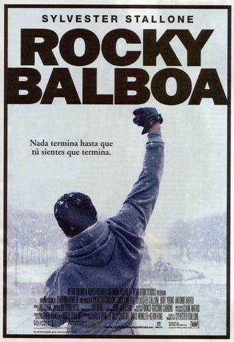 "Poster for the movie ""Rocky Balboa"""
